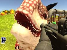 3D Dinazor Öldürme