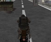 3D Çılgın Motorcu