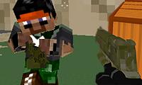 3D Minecraft Pixel Savaşı