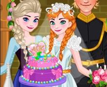 Anna Düğün Pastası Yapıyor