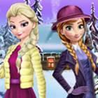 Anna ve Elsa Kış Modası