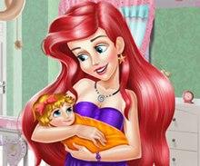Ariel Bebek Odası Dekorasyonu
