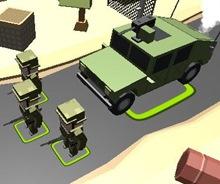 Askeri Konvoy Koruma 3D