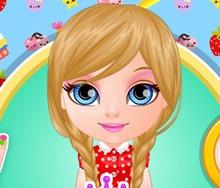 Barbie Bebek Tırnak Süsleme