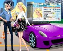 Barbie Ehliyet Sınavında