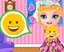 Barbie Emojili Yastık Tasarımı