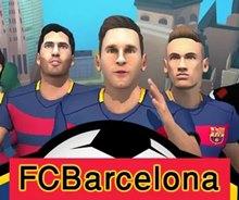 Barcelona Futbolcularını Koştur