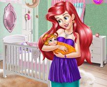Bebek Ariel'in Odasını Dekore Et