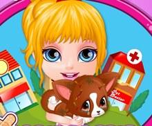 Bebek Barbie Hayvan Bakımı
