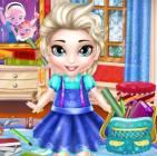 Bebek Elsa Okul Hazırlığı