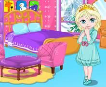 Bebek Elsa'nın Odasını Dekore Et