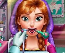 Buz Prensesi Gerçek Diş Tedavisi