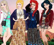 Disney Kızı Coachella Giydir