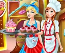 Disney Kızları Mutfak Modası