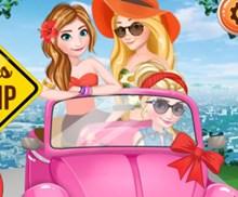 Disney Kızları Yolculuk Hazırlığı