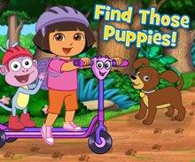 Dora Köpekçikleri Bul