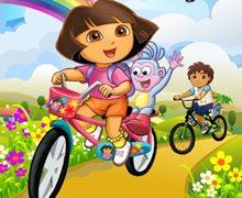Dora ve Diego Bisiklet Yarışı