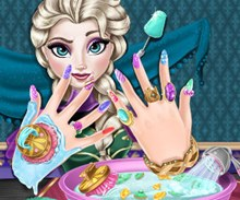 Elsa Tırnak Makyajı