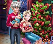 Elsa ve Ailesi'nin Noel Hazırlığı