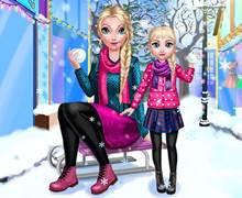 Elsa ve Annesinin Kış Günlüğü