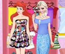 Elsa ve Ariel Yaz Modası