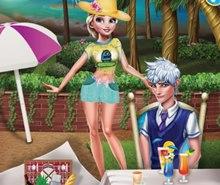 Elsa ve John Piknikte