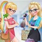 Elsa ve Rapunzel Okulda