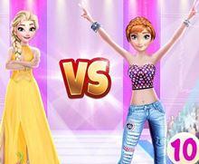 Elsa vs Anna Moda Yarışması