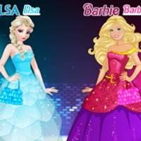 Elsa vs Barbie Moda Yarışması