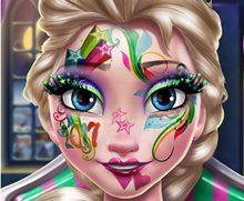 Elsa'nın Yılbaşı Makyajı