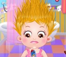Hazel Bebek Bakımlı Saçlar