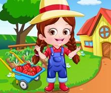 Hazel Bebek Çiftçi Kıyafetleri