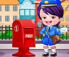 Hazel Bebek Postacı Kostümü