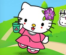 Hello Kitty Makyaj Yap