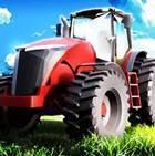Çiftlikte Traktör Kullan