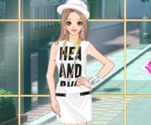 Amy Beyaz Sokak Modası