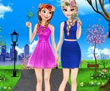 Kız Kardeşlerin Bahar Hazırlığı