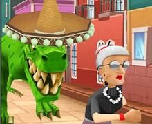 Kızgın Büyükanne Kaçış 7 Londra