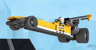 Lego Şehri 2 : Araba Yarışı