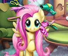 Little Pony Gerçek Saç Kesimi