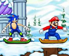 Mario vs Sonic Kayak Yarışı