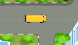 Okul Otobüsünü Park Etme
