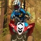 Ormanda ATV Yarışı