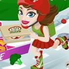 Pizzacı Kaykaylı Kız