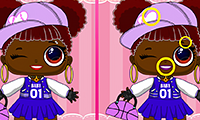 Popsy Princess: Spot the Difference