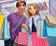 Rachel ve Filip Alışveriş Gününde