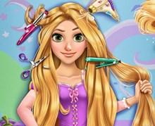 Rapunzel Gerçek Saç Kesimi