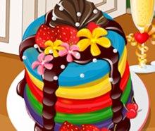 Renkli Kek Yapma