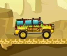 Safari Arabaları Yarış