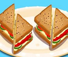 Somon Balıklı Sandviç
